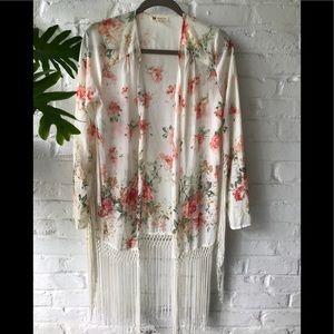 Cotton Candy Kimono Top